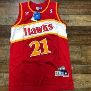 NWT Dominique Wilkins Atlanta Hawks NBA Jersey